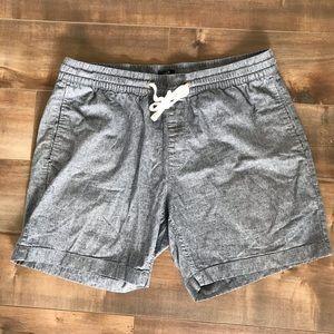 Men's J Crew stadium shorts size large